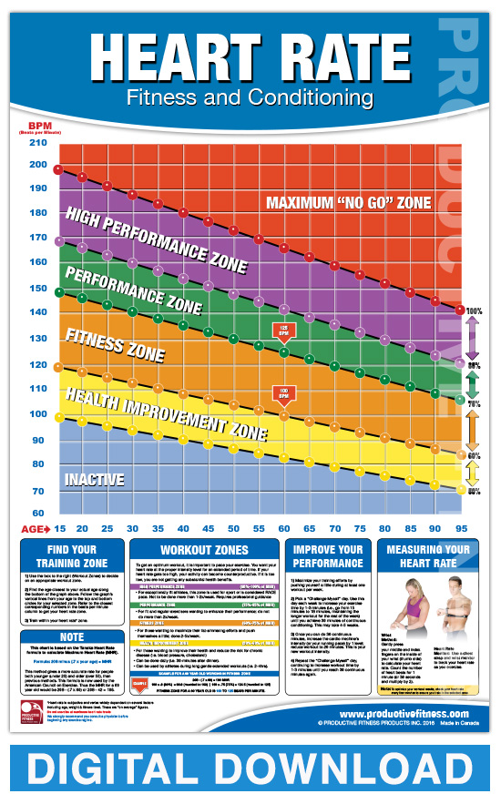 Your Heart Rate | Cardiac Health |Exercise Heart Rate Chart